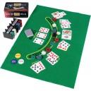 Poker žetony set 200 ks v plechové dóze